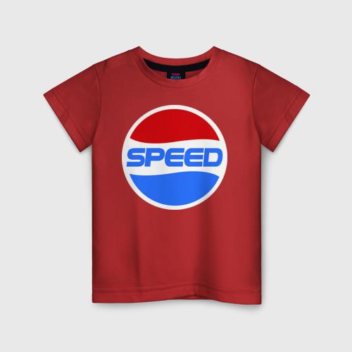 Детская футболка хлопок Pepsi Speed