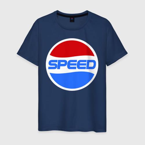 Мужская футболка хлопок Pepsi Speed