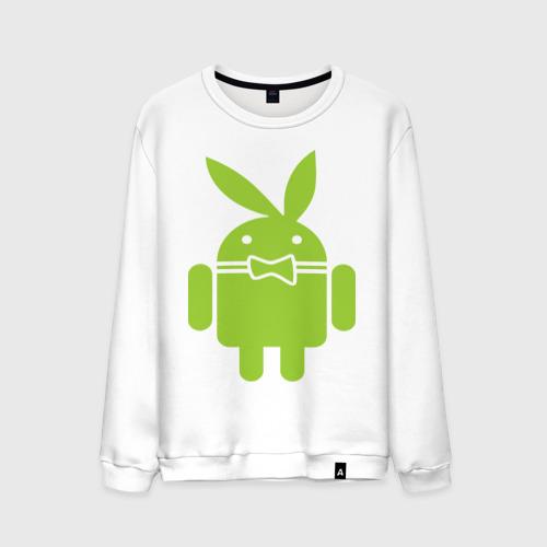 Мужской свитшот хлопок Android Playboy