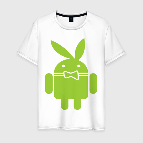 Мужская футболка хлопок Android Playboy