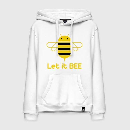 Мужская толстовка хлопок Android - Let It Bee
