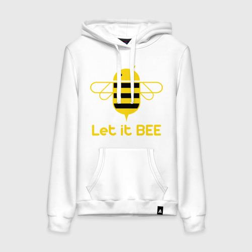 Женская толстовка хлопок Android - Let It Bee