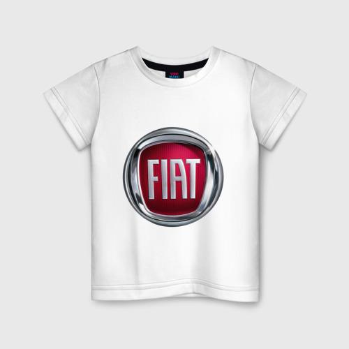 Детская футболка хлопок FIAT logo