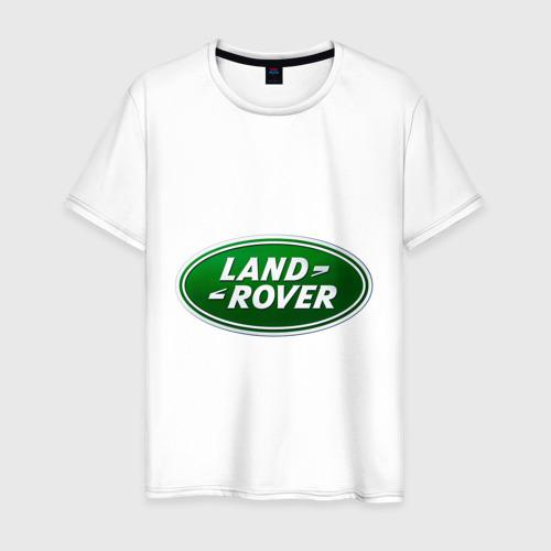 Мужская футболка хлопок Logo Land Rover