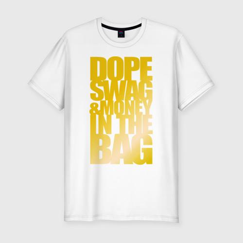 Мужская футболка хлопок Slim Swag and money