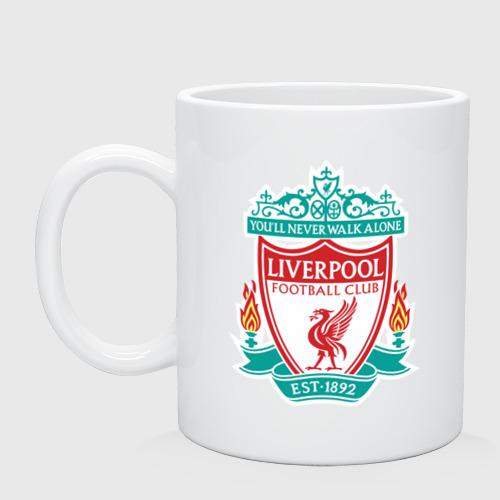 Кружка Liverpool logo