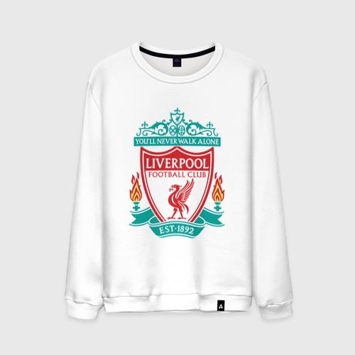 Мужской свитшот хлопок Liverpool logo