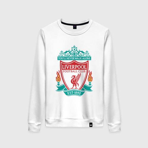 Женский свитшот хлопок Liverpool logo