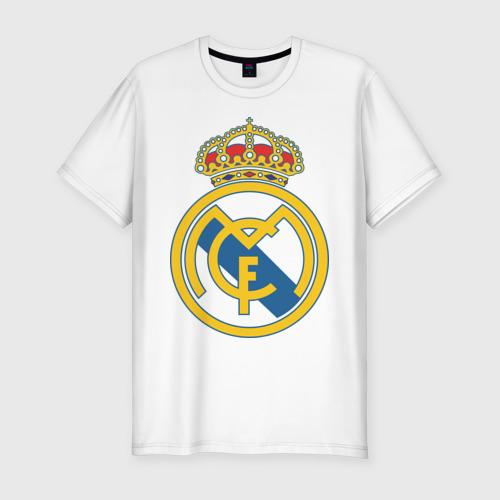Мужская футболка хлопок Slim Real Madrid
