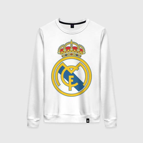 Женский свитшот хлопок Real Madrid