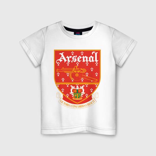 Детская футболка хлопок Арсенал Лондон