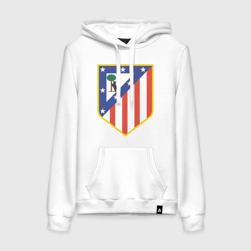 Женская толстовка хлопок Атлетико Мадрид