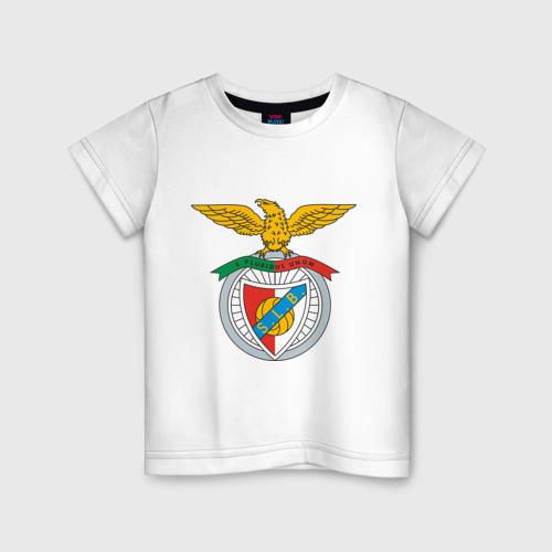 Детская футболка хлопок ФК Бенфика