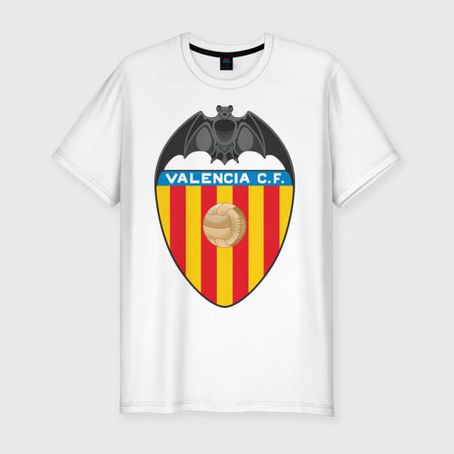 Мужская футболка хлопок Slim Валенсия