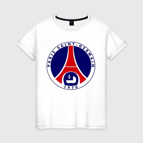 Женская футболка хлопок Пари Сен-Жермен