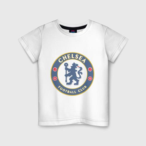 Детская футболка хлопок Челси