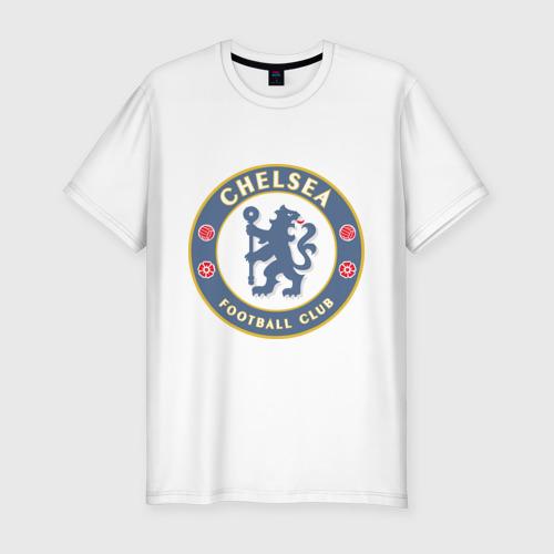 Мужская футболка хлопок Slim Челси