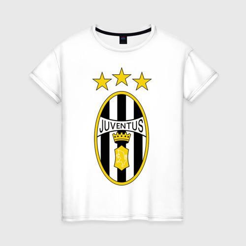Женская футболка хлопок Ювентус