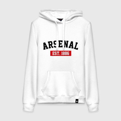 Женская толстовка хлопок FC Arsenal Est. 1886