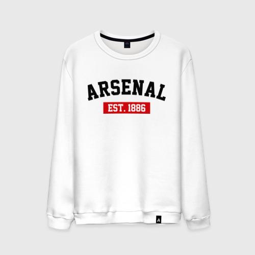 Мужской свитшот хлопок FC Arsenal Est. 1886