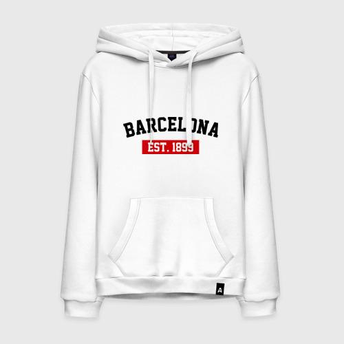 Мужская толстовка хлопок FC Barcelona Est. 1899