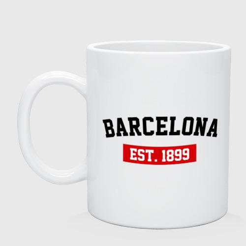 Кружка FC Barcelona Est. 1899