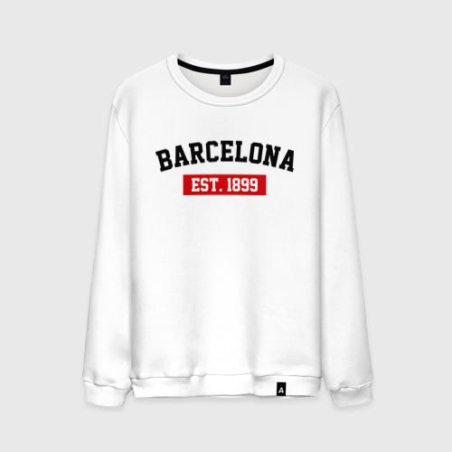 Мужской свитшот хлопок FC Barcelona Est. 1899