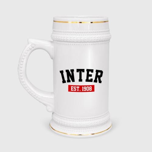 Кружка пивная FC Inter Est. 1908