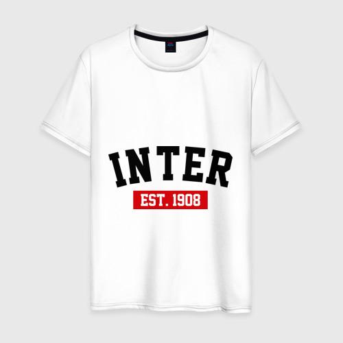 Мужская футболка хлопок FC Inter Est. 1908
