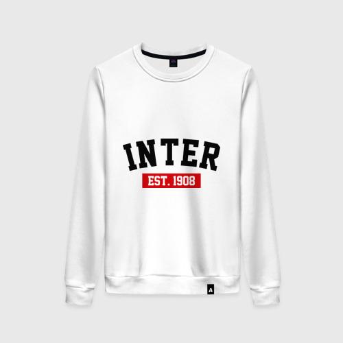 Женский свитшот хлопок FC Inter Est. 1908