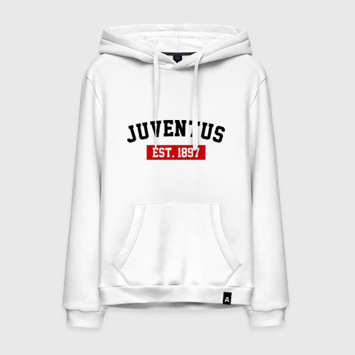 Мужская толстовка хлопок FC Juventus Est. 1897
