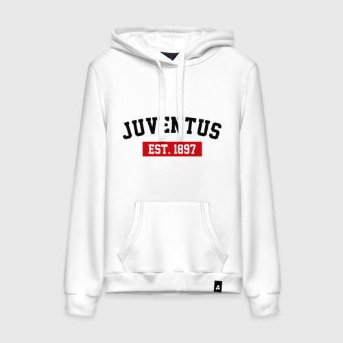 Женская толстовка хлопок FC Juventus Est. 1897