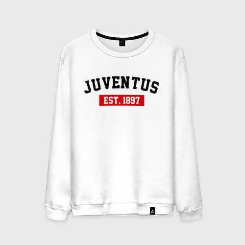Мужской свитшот хлопок FC Juventus Est. 1897