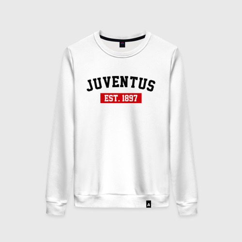Женский свитшот хлопок FC Juventus Est. 1897