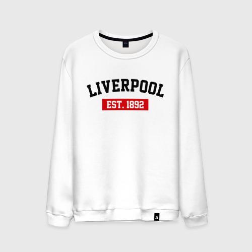 Мужской свитшот хлопок FC Liverpool Est. 1892