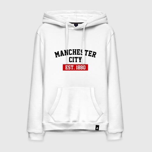 Мужская толстовка хлопок FC Manchester City Est. 1880