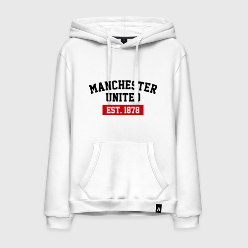 Мужская толстовка хлопок FC Manchester United Est. 1878