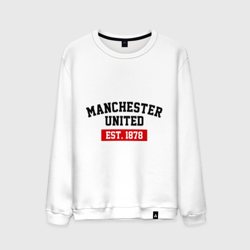 Мужской свитшот хлопок FC Manchester United Est. 1878