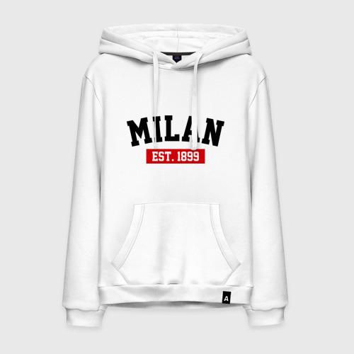 Мужская толстовка хлопок FC Milan Est. 1899