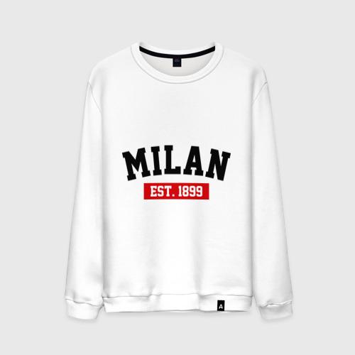 Мужской свитшот хлопок FC Milan Est. 1899