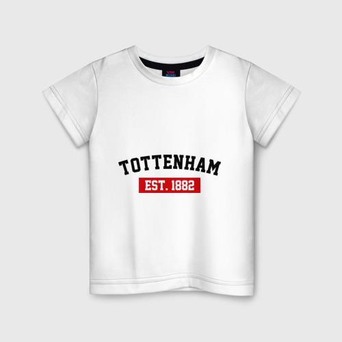Детская футболка хлопок FC Tottenham Est. 1882