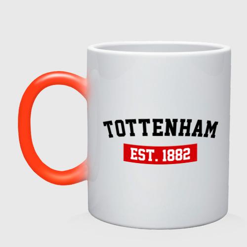 Кружка хамелеон FC Tottenham Est. 1882