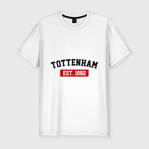 Мужская футболка хлопок Slim FC Tottenham Est. 1882