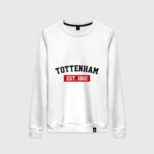 Женский свитшот хлопок FC Tottenham Est. 1882