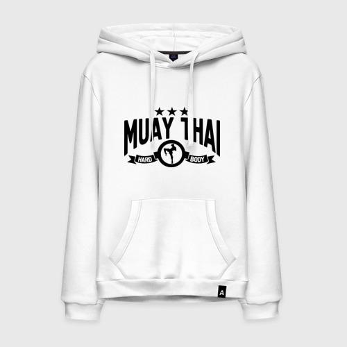 Мужская толстовка хлопок Muay thai boxing (Тайский бокс)