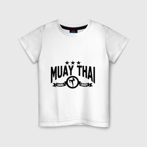 Детская футболка хлопок Muay thai boxing (Тайский бокс)