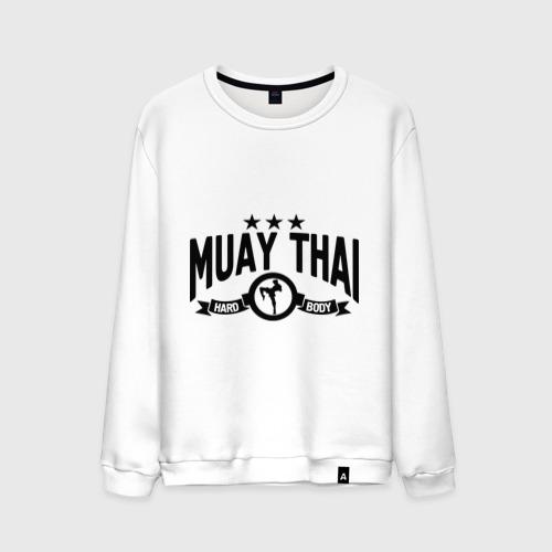 Мужской свитшот хлопок Muay thai boxing (Тайский бокс)