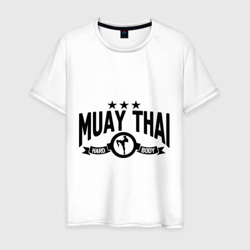 Мужская футболка хлопок Muay thai boxing (Тайский бокс)