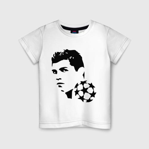 Детская футболка хлопок C.Ronaldo