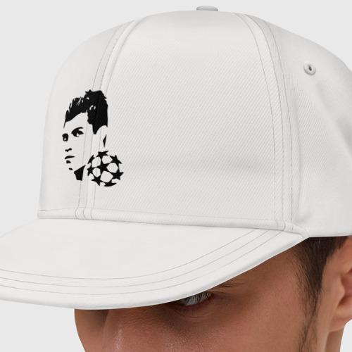 Кепка снепбек с прямым козырьком C.Ronaldo